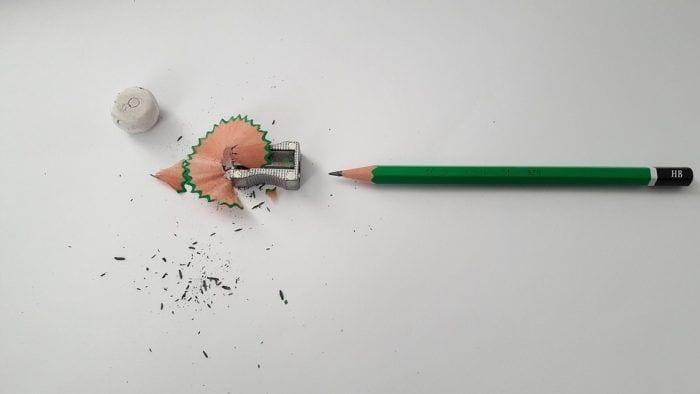 como arreglar una cremallera con un lapiz