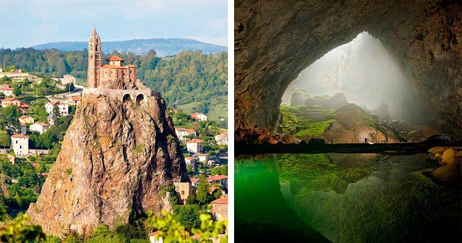10 maravillosos lugares desconocidos que merece la pena visitar