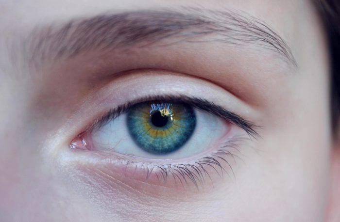 blue, women, eye, eyebrow, blue eye, white, glance, face, göz, g