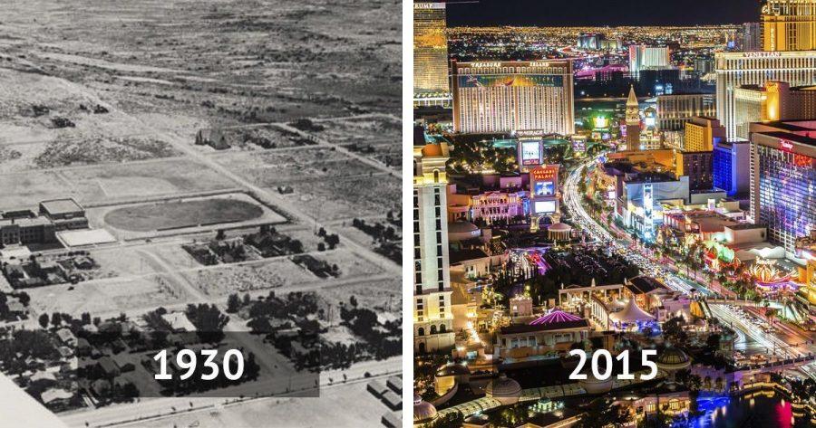 Antes y después de 10 famosas ciudades