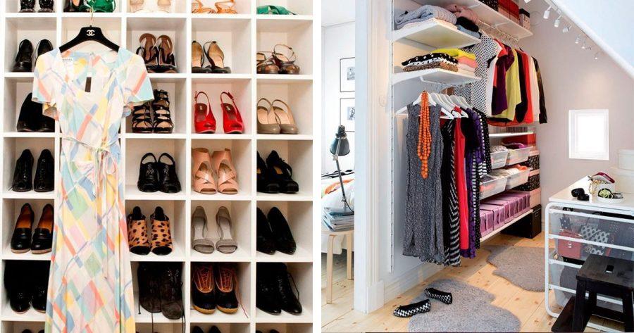 Estos 5 consejos serán tu salvación para ordenar el armario con el cambio de estación