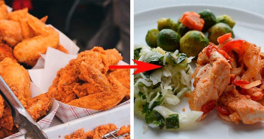 10 sencillos cambios saludables para mejorar tu alimentación que notará tu salud