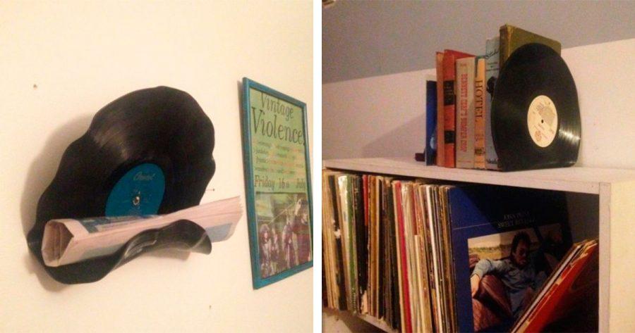 ¿Tienes viejos discos de vinilo en casa? Te enseñamos 5 formas para reutilizarlos de la manera más creativa