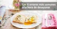 errores desayuno