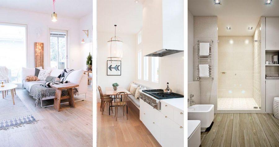 4 soluciones diferentes para reemplazar el suelo sin necesidad de hacer obras casas - Tipos de suelo para casa ...
