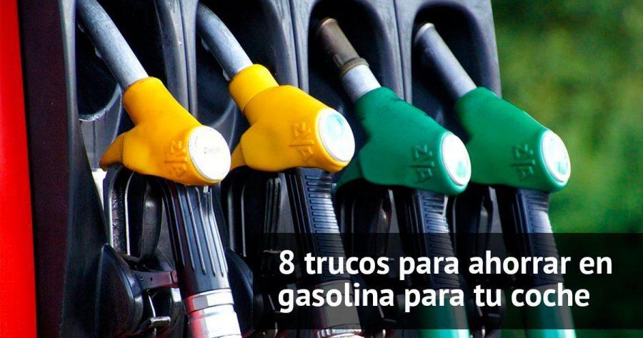 8 trucos para ahorrar gasolina