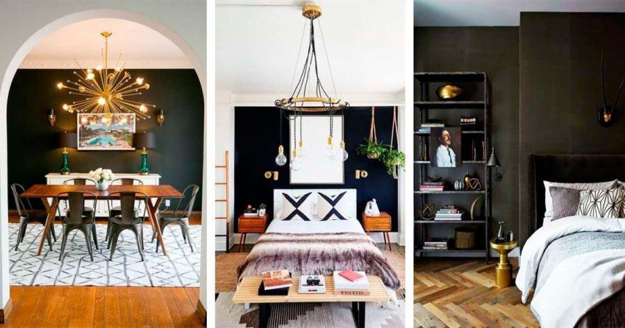 10 diseños de decoración con color negro