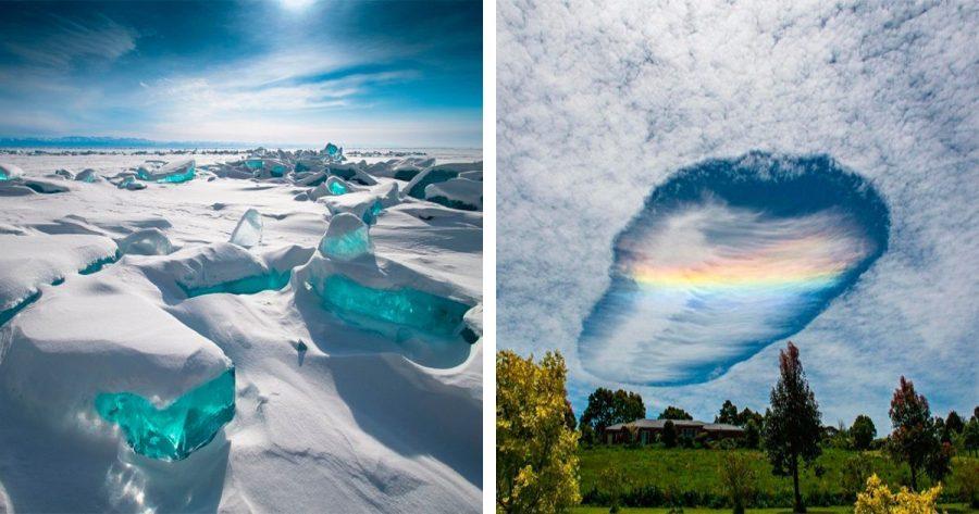 10 de los fenómenos naturales más extraños que existen y que merecen ser visto al menos una vez en la vida