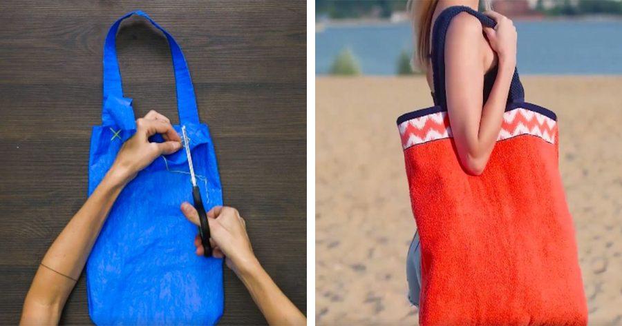 Estas 4 bolsas DIY son las alternativas perfectas a las bolsas de plástico
