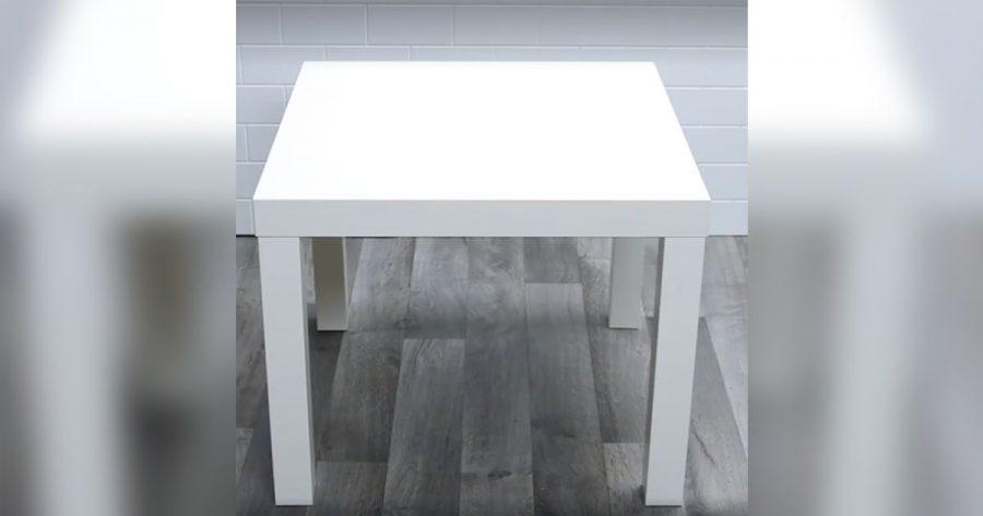 Transforma una mesa barata del IKEA en 4 cosas totalmente distintas