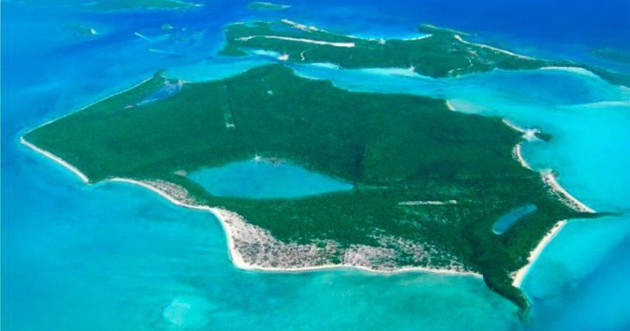 Isla de las Bahamas en venta con castillo del Nazismo