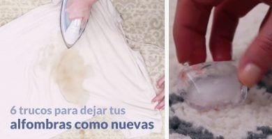 6 trucos eficaces para limpiar alfombras 00