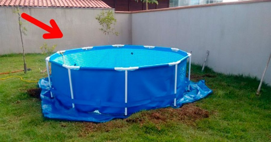 C mo transformar una simple piscina de pl stico por for Piscina francos rodriguez