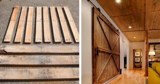 puerta corredera DIY pale destacada