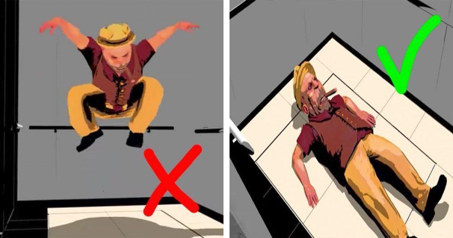 ¿Sabrías qué hacer si un ascensor sufriera una caída? Estos consejos podrían salvarte la vida