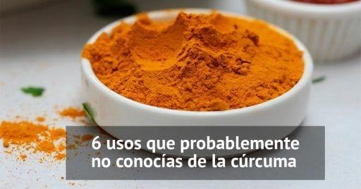 usos curcuma