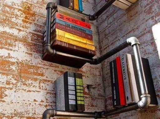 15 buenas ideas para hacer unas estanterías en casa 00 1 e1539104143629