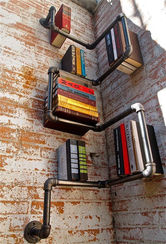 15 buenas ideas para hacer unas estanterías en casa 01