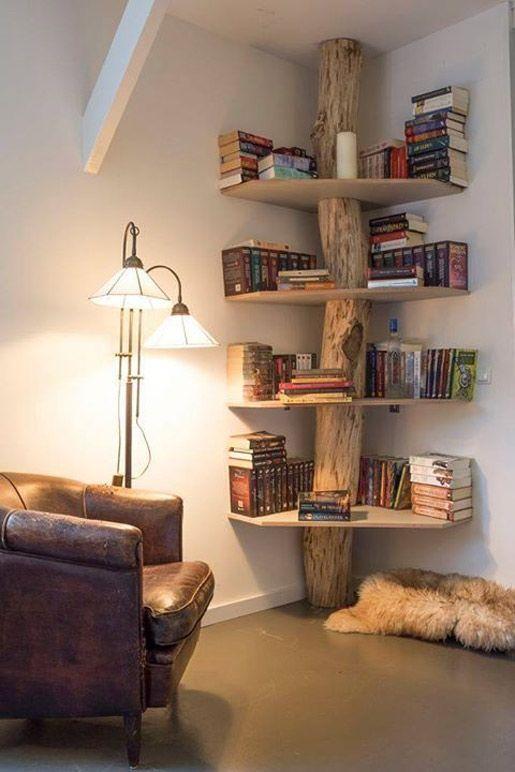 15 buenas ideas para hacer unas estanterías en casa 06
