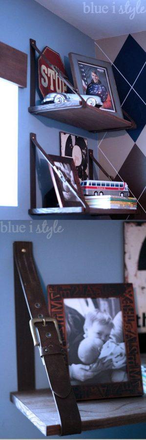 15 buenas ideas para hacer unas estanterías en casa 11