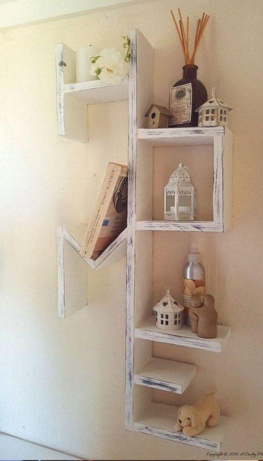 15 buenas ideas para hacer unas estanterías en casa 12