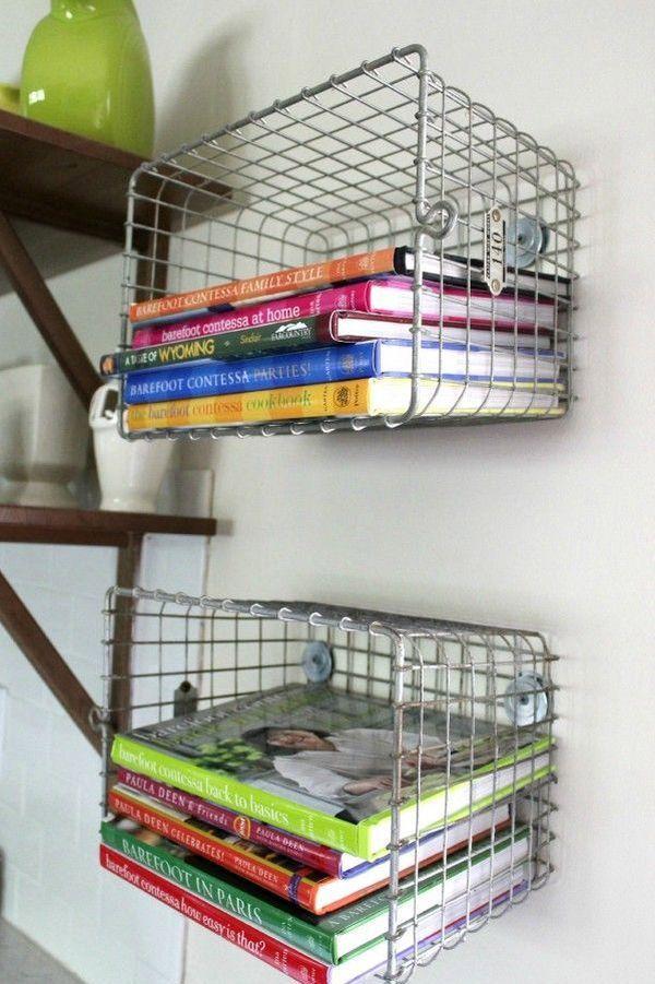 15 buenas ideas para hacer unas estanterías en casa 15