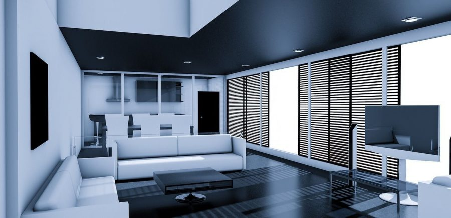 claves-estilos-salones-modernos_sofa_pantalla-blanco-negro