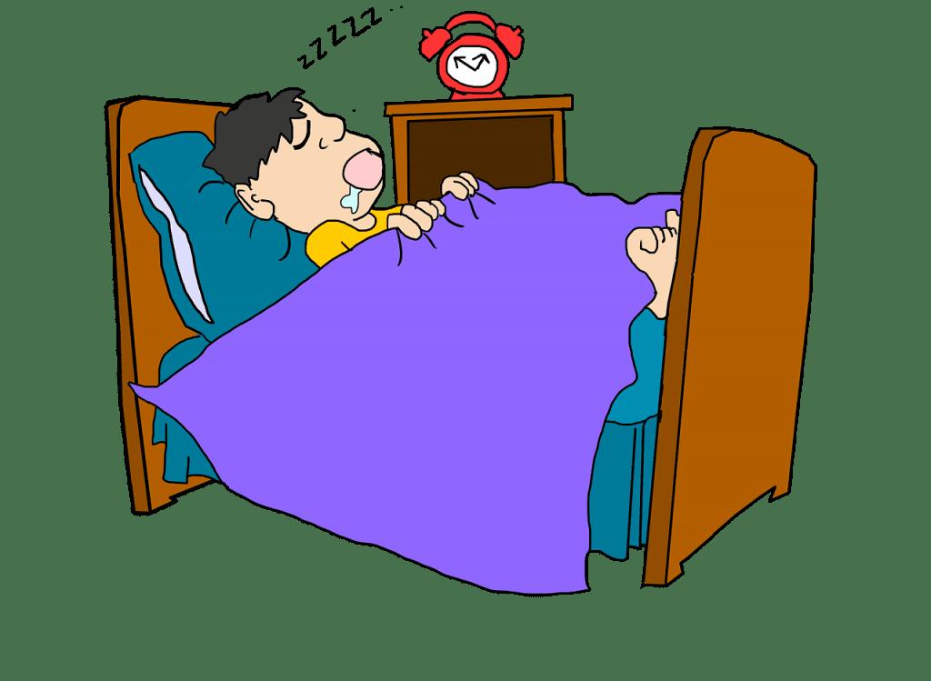 motivos prevencion ronquidos homre roncando cama