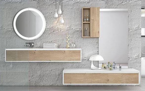 ideas de lavabos y armarios de baño Ideas Para Remodelar Tu Bao