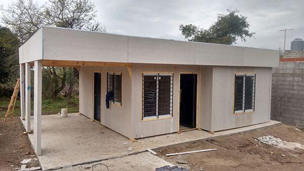 Casa prefabricada hormigón