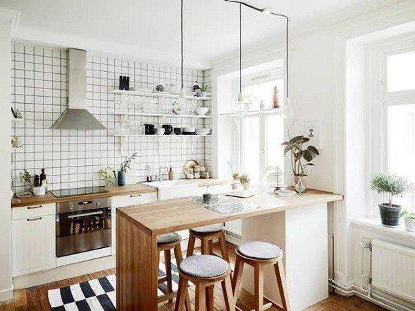 Cocinas pequeñas practicas con estilo