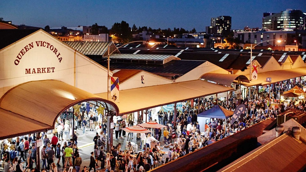 EL Queen Victoria Market, el gran mercado de Melbourne, Australia