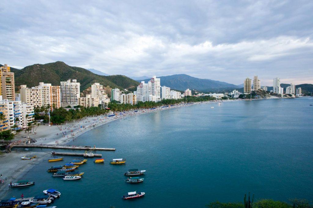 Santa Marta el puerto turístico de Colombia