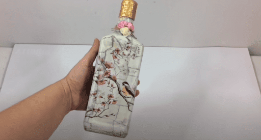 decorar botella vidrio