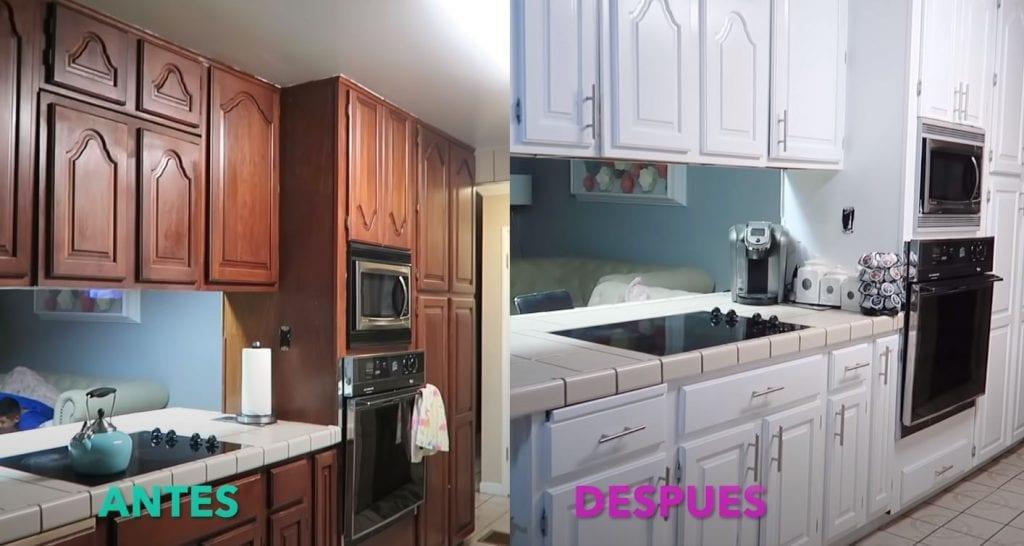 como pintar muebles cocina