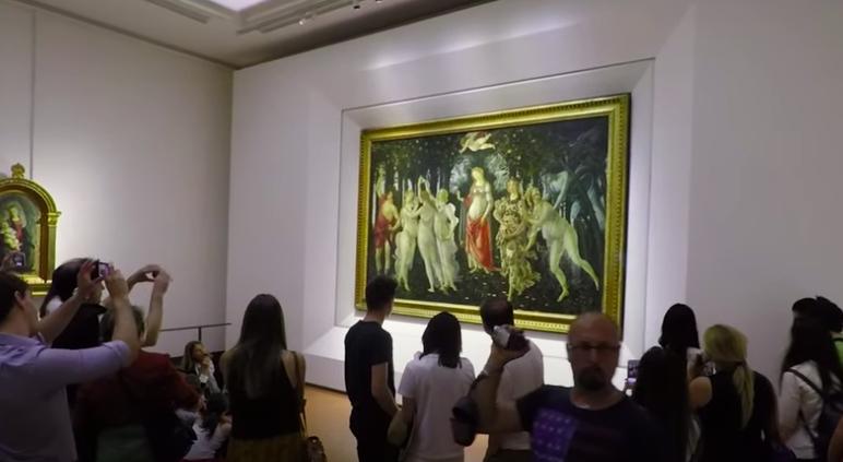 Galería de los Uffizi, Florencia. Lo mejor del arte en Italia