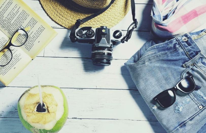 vacaciones maleta