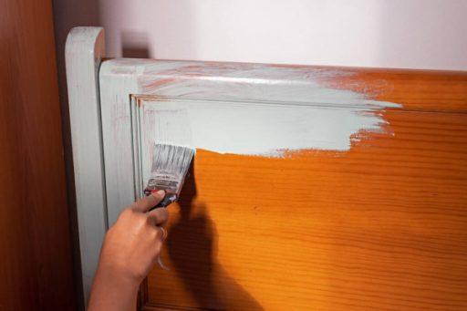 Pintar mueble con pintura a la tiza