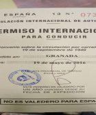carnet internacional de conducir 1