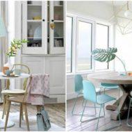 como decorar una mesa de comedor 1